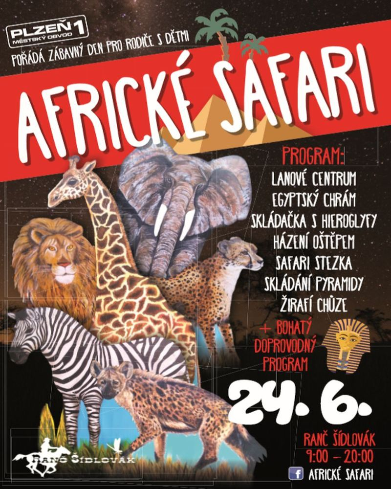 Akce pro děti - Africké safari