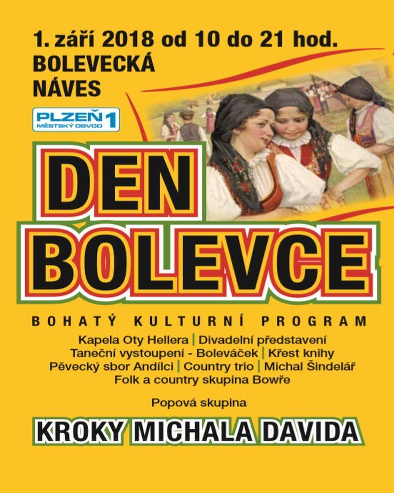 Akce v Bolevci - Plzeň - Den Bolevce