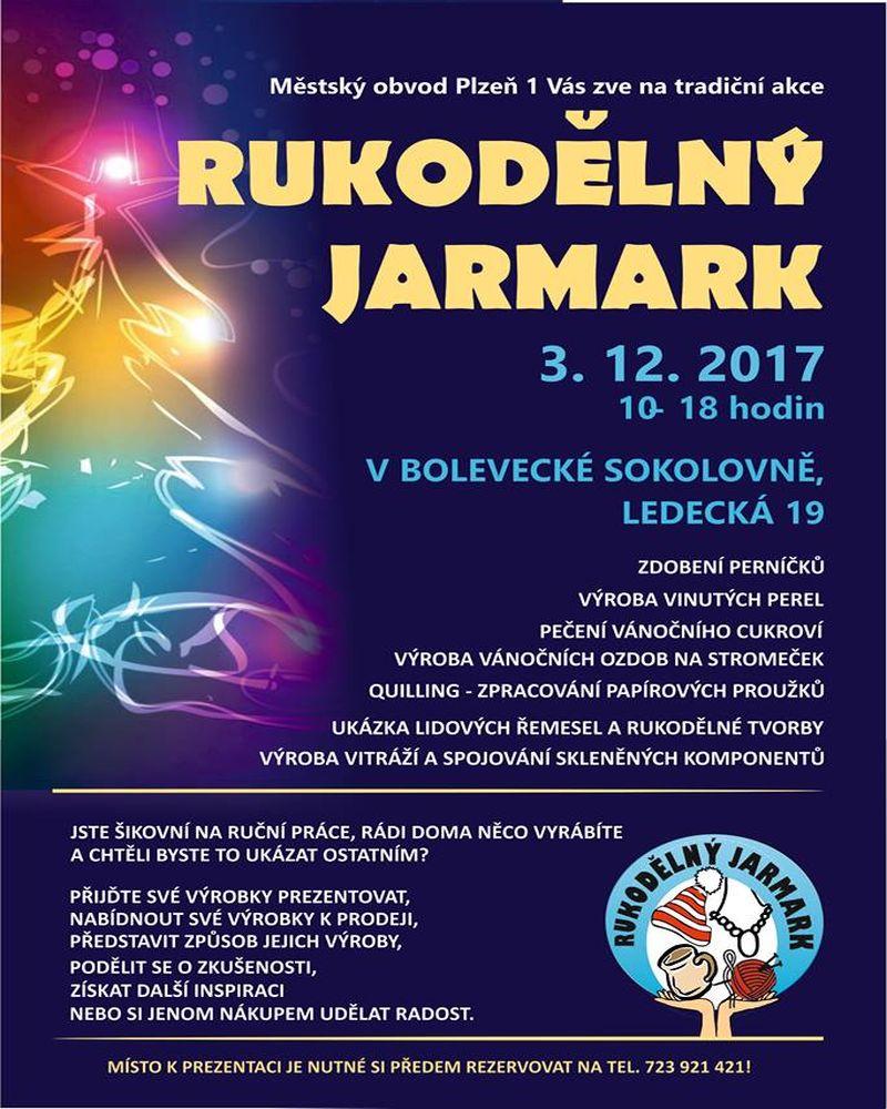 Rukodělný jarmark - AKCE - JARMARK