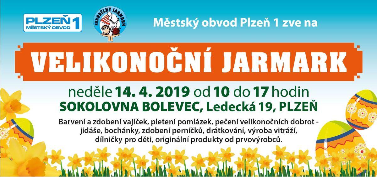 Velikonoční jarmark v Plzni Bolevci