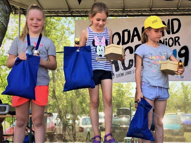 Škodaland race junior- vyhlášení vítězů v jednotlivých kategoriích