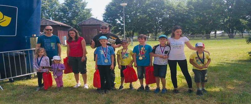 Děti s poruchou autistického spektra na Škodaland race junior